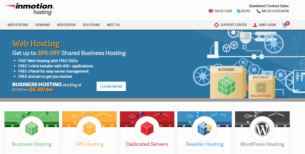 Best Web Hosting Providers in 2020 3