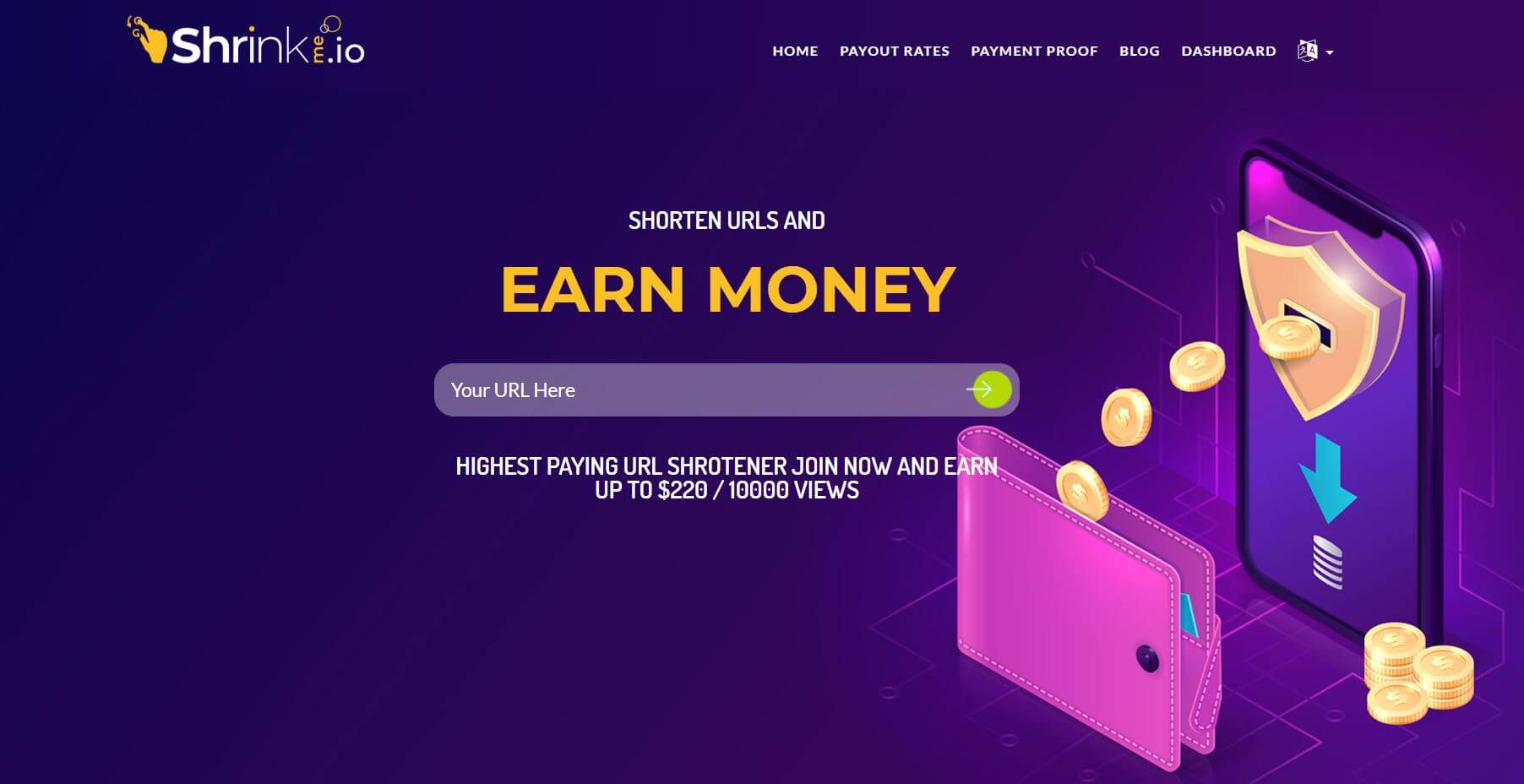 ShrinkMe.io Review – Payment Proof, Payout Rates, Legit or Scam? 1